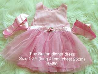 Princess Girl Party Dress