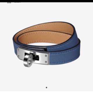 SELL/TRADE Hermes KDT Bleu Agate