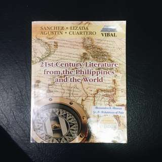 SHS BOOK: 21st Century Literature from Philippines and the World