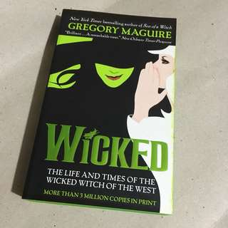 Brand New Wicked book 1