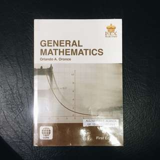 SHS BOOK: General Mathematics