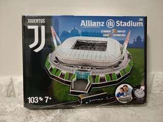 (配合新網店-期限優惠)C朗新簽約加盟 祖雲達斯 3D 球場 模型 砌圖(100%全新)
