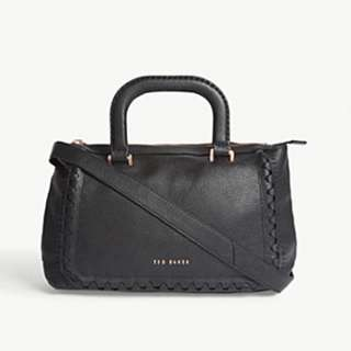 TED BAKER Tia grained leather tote