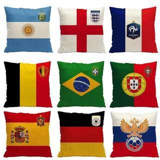 World Cup 2018 pillows