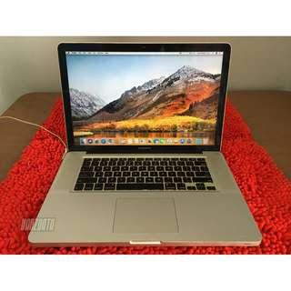 "MACBOOK PRO 15"" Mid 2012 (MD103), Intel i7, VGA nVidia GT 650M, Mulus"