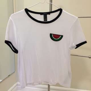 Brand new watermelon patch top