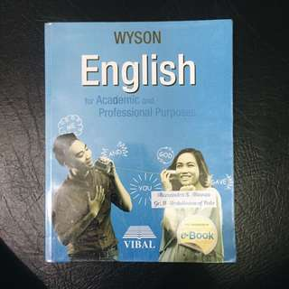 SHS BOOK: English for Academic and Professional Purposes