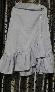Stripes Blue Skirt