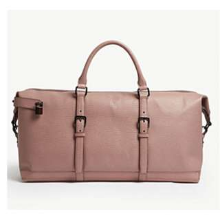 TED BAKER Ragmar Palmelato leather holdall