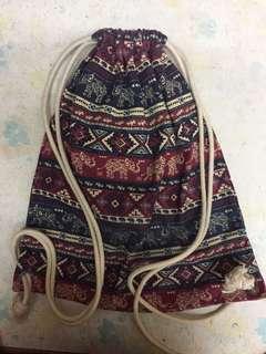Thailand Drawstring bag 泰國民族風索帶袋