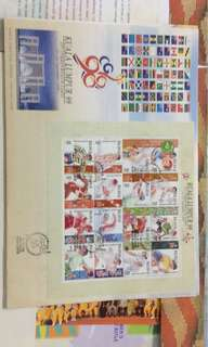 First Day covers 1991 to 2007