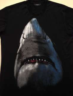 Givenchy Oversized Cuban Shark Printed Tee
