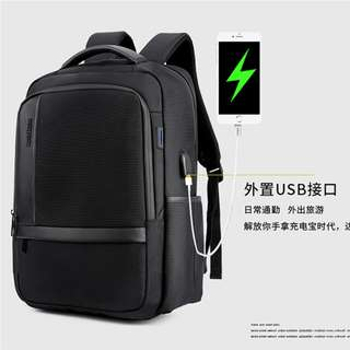 🚚 Business Laptop Backpack with USB Charging Port Lightweight