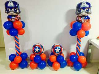 🚚 Balloons columns for event or party