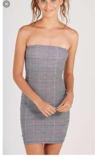 Supre Plaid Dress, Body Sculpting