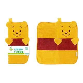 [面交 8 折] Disney 迪士尼 Pooh 維尼 毛巾袋