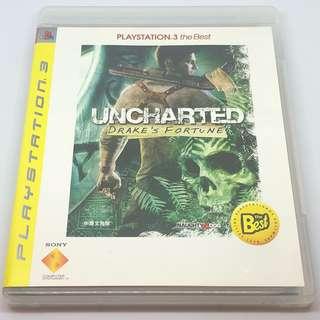 PS3 Unchartered Drake's fortune 中英文合版