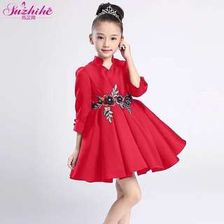 GIRLS ELEGANT KIDS DRESS JLH