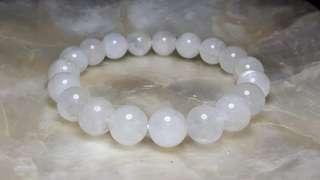 300 PESOS OFF! 10mm Genuine Moonstone Bracelet