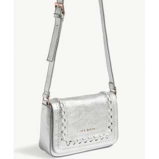 TED BAKER Tippi grained leather cross-body bag