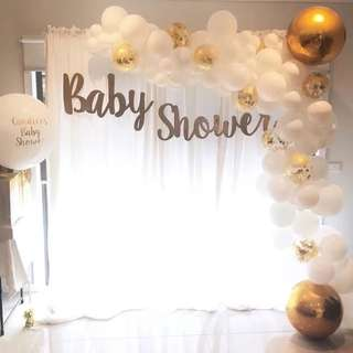 Baby Shower Decoration Set Up Event