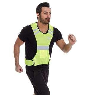 LiveUp Sports Adjustable Reflective Vest LS3403