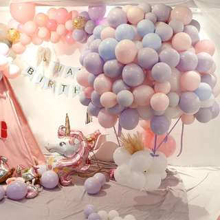 Unicorn Theme Birthday Event Planner Decoration Set Up
