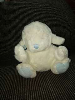 The prayer lamb stuff toy