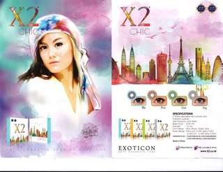 SOFTLENS X2 CHIC By EXOTICON
