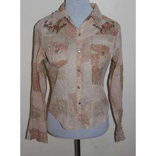 Printed Long Sleeves top for women