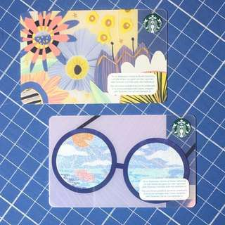 Starbucks Card Summer designs from Europe