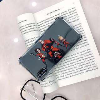 Incredibles iPhone 7 8 X Plus case