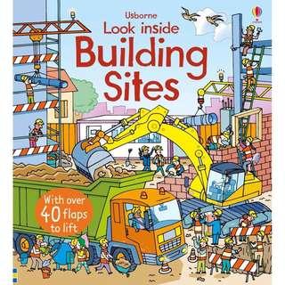 🚚 Usborne: Look inside building sites