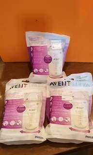 🚚 Avent breast milk storage bags