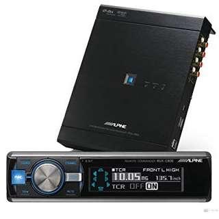 Alpine PXA-H800 DSP with RUX-C800 Controller