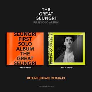 THE GREAT SEUNGRI ALBUM