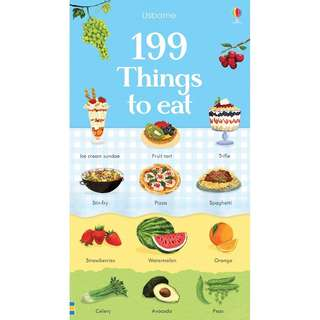 🚚 Usborne: 199 Things to eat