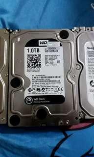 western digital WD BLACK 1T hard disk