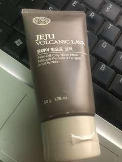 Jeju Volcanic Lava Peel-Off Clay Nose Mask