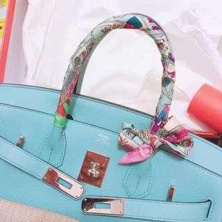 Hermes birkin 30 Tiffany Blue 3P