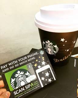 STARBUCKS CARD WORTH OF 10k LOAD