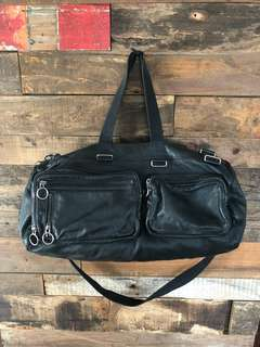 Dior homme 真皮messenger bag travel bag