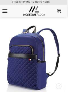 Brand new navy blue backpack