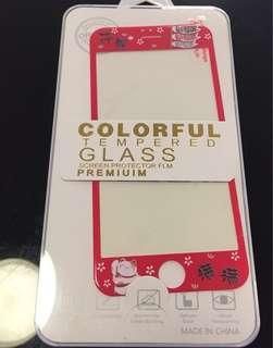 iPhone 6 4.7吋 芒貼 中間玻璃,外框軟貼 包郵
