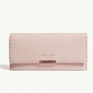TED BAKER Iiona grained leather sunglasses case