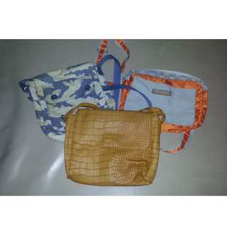 3pcs Sling Bag BUNDLE