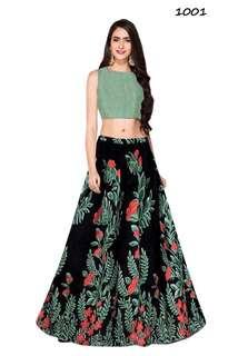Engrossing Banglory Silk Designer Lehenga Choli
