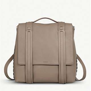 ALLSAINTS Fin Lea leather backpack