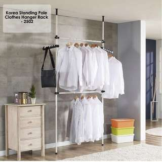 PROMO SALE - New Standing Pole Clothes Hanger Rack