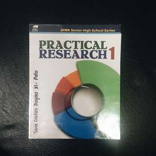 SHS BOOK: Practical Research 1